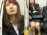 会社帰りで疲れて眠るスタイル抜群の若手女子社員(其の七)