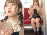 トップアイドル級!白パンツを見せてくれた可愛すぎる美少女(其の二)
