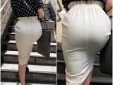 《最高級品のヒップライン!!》 No.1019【稀に見る超美形のヒップラインを堪能できるタイトスカート着衣尻】