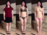 【顔出し・個人撮影】素人娘の全裸オマ○コ接写観察動画★ちあき29歳★FULL HD 1920x1080