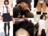 スカートめくりで触ってバレた大失態!透けP制服娘めくり盗撮パンチラ動画【鬼畜めくり29】