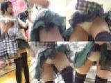 【めくり編】胸元がゆるゆるで美乳丸見え無防備少女めくり&パンチラ盗撮動画2
