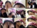 【完全版】極小Tバックからハミ出るアソコが卑猥な丸見えパンチラSP! Tバックニーハイミニスカ女子盗撮動画