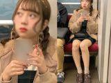 トップアイドル級!白パンツを見せてくれた可愛すぎる美少女(其の九)