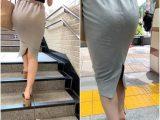 《美しいタイトスカート姿なのに…》 No.999【フラフラ歩く美尻OL】